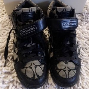 COACH Zoey 12CM Signature sneakers